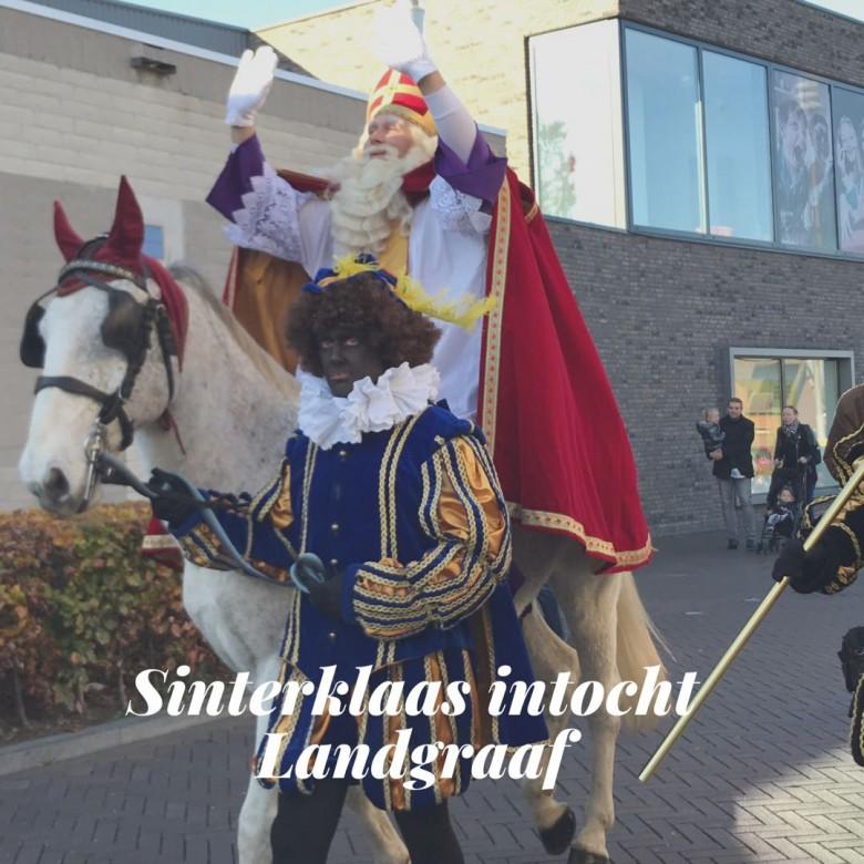 De Sinterklaas intocht was een groot succes